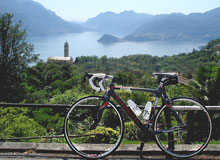 Bicycle in Lake Como - Plesio