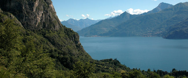 View of Lake Como North from Nava